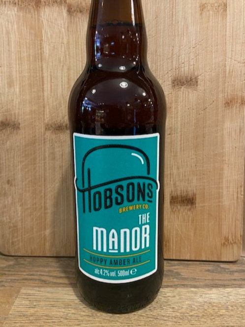 HOBSONS AMBER ALE (the Manor)