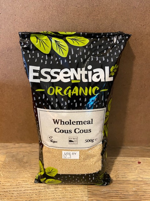 ORGANIC WHOLEMEAL COUSCOUS