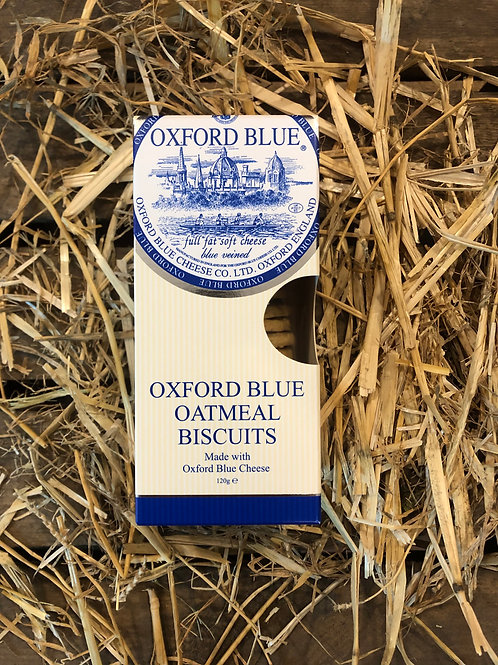 OXFORD BLUE CHEESE OATMEAL BISCUITS