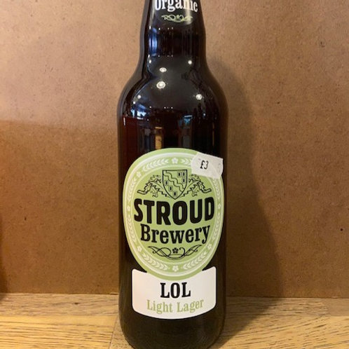 ORGANIC LIGHT LAGER (Stroud Brewery)