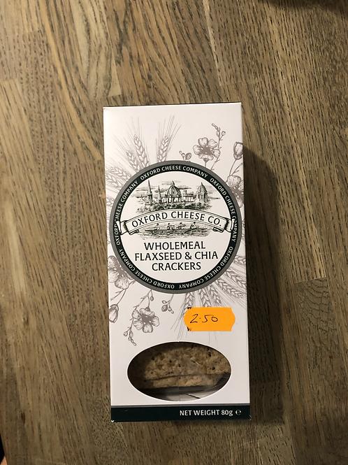 Flaxseed & Chia Crackers