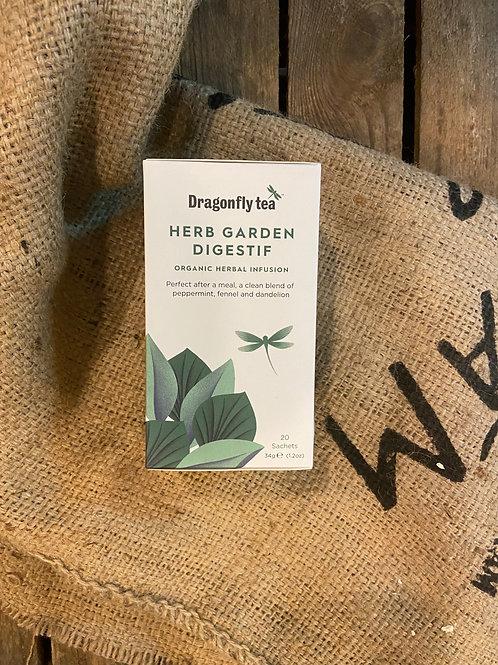DRAGONFLY TEA - HERB GARDEN DIGESTIF (20 BAGS)