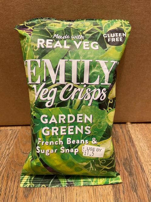 VEG CRISPS (FRench Beans & Sugar Snaps)