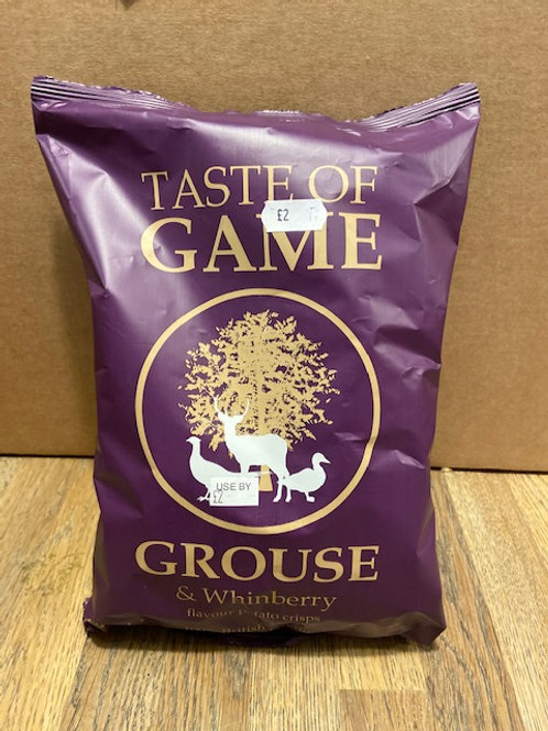 TASTE OF GAME CRISPS (Grouse & Whinberry)