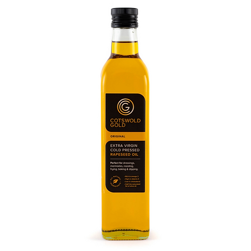 COTSWOLD GOLD - RAPESEED OIL (500ML)