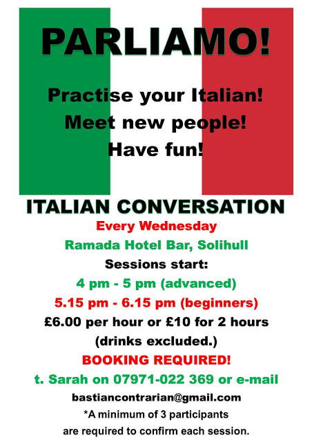 Italian conversation solihull