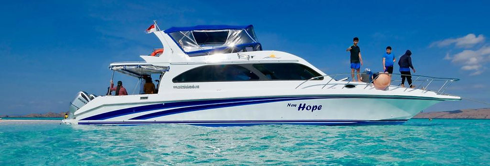 Sea Adventure Komodo Speedboat (Open Trip)
