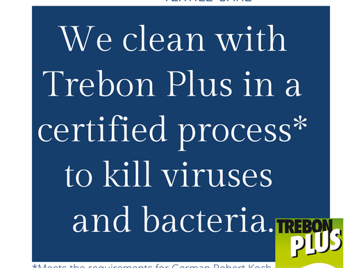 COVID - CLEANING: Our Solution/Process is Certified to Kill Viruses & Bacteria (Covid-19)