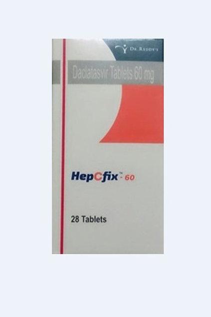 Daclatasvir HepCfix 60 mg Tablets
