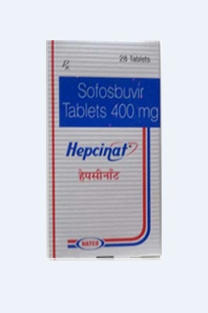 Hepcinat 400mg Sofosbuvir (28 tablets / 4weeks)