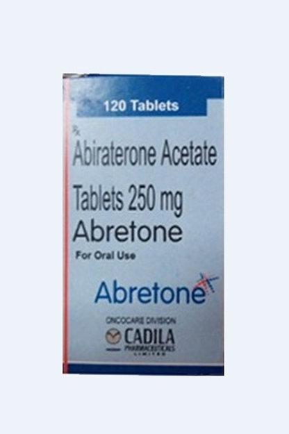 Abretone Tablets Abiraterone 250mg Cadila