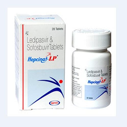 Hepcinat LP Ledipasvir Sofosbuvir (28 tablets / 4weeks)