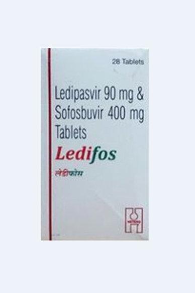 Ledipasvir Sofosbuvir Ledifos (28 tablets / 4weeks)
