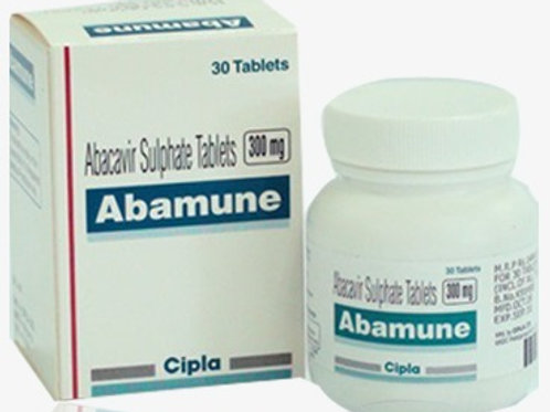 Abamune Abacavir Sulfate 300mg tablets