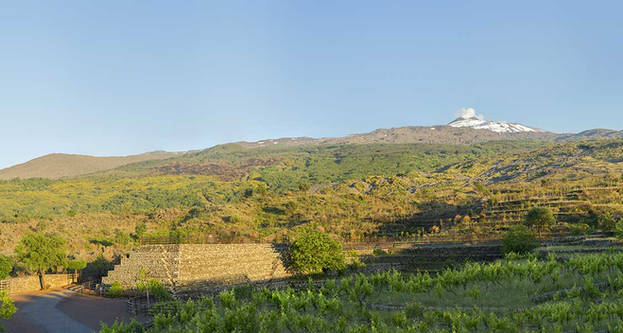 Etna View by Terrace, Agritourism Sicily