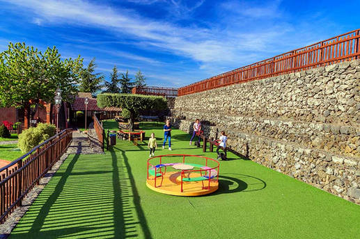 Playground, Etna Accommodation for Family