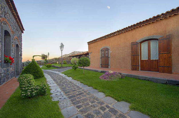 Reception e Camere, Agriturismo sull'Etna