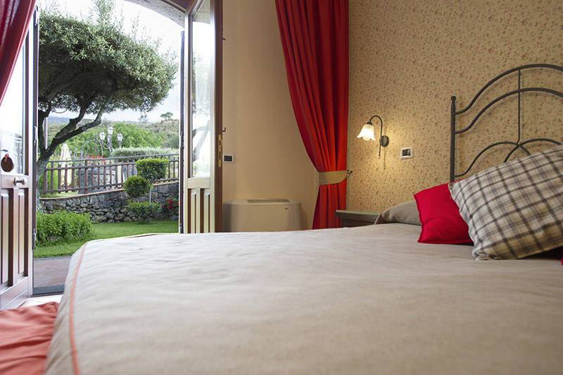 Room with Garden View, Etna Hotel Sicily