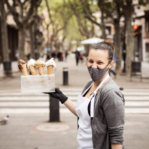 Mamá heladera, gelats a partir d'emocions i records a Poblenou, Barcelona