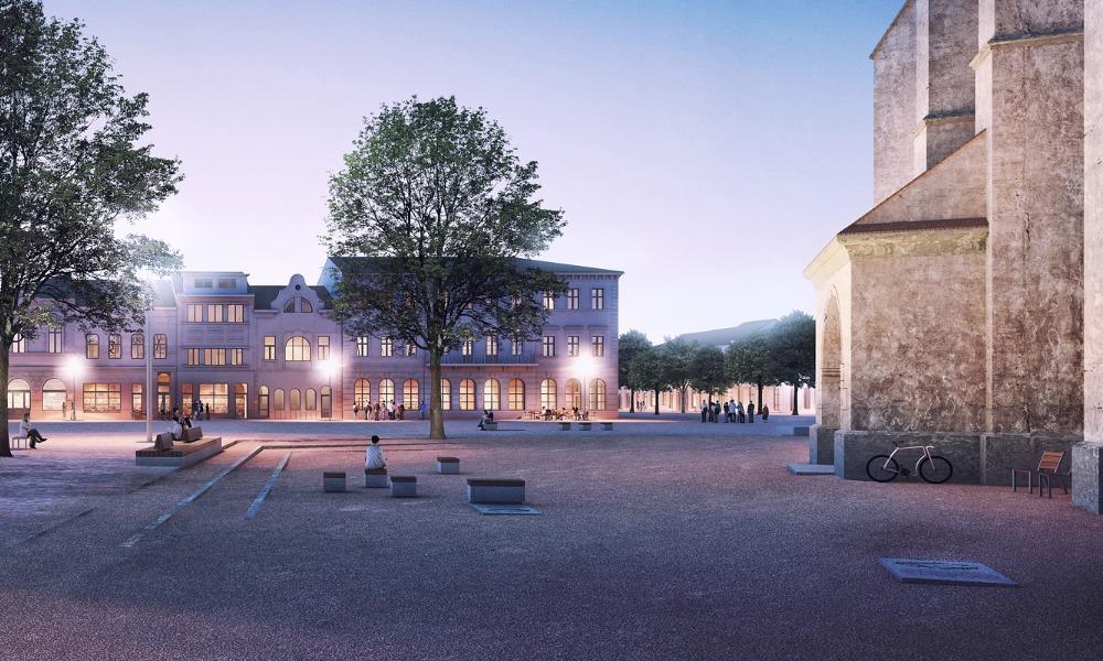 Bistrita center square
