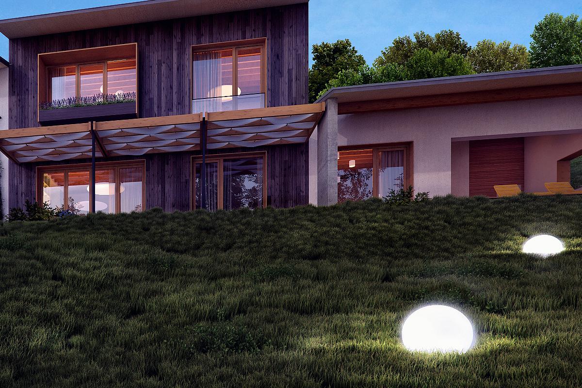 House on 'Cetatuia'