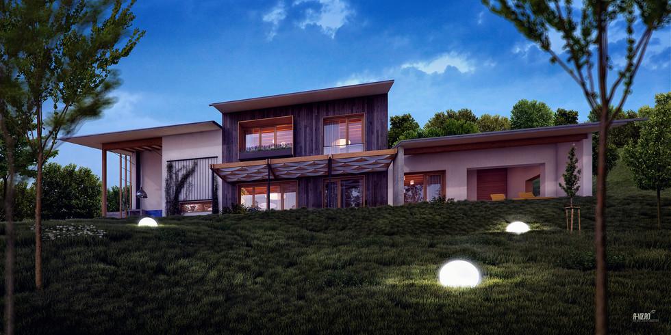 'Cetatuia' hill house