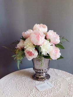 Centrepiece with Vase - Peony $25