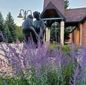 Evergreen Public Library Public Garden