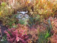 Owl garden sculpture - photo credit Natalie Mozer