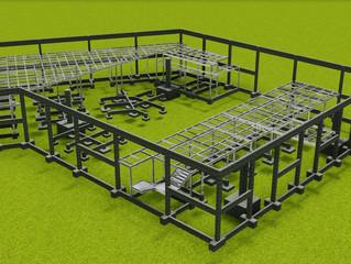 A Solution concluiu o Projeto Estrutural do Mercado de São Miguel usando Tecnologia Bim.