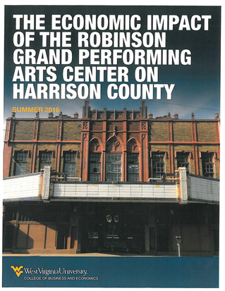 City of Clarksburg to Announce Results of Robinson Grand Performing Arts Center Economic Impact Stud