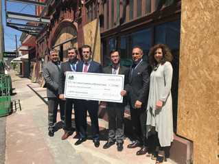 MVB Bank Continues Theater Support with a Contribution to Robinson Grand's Capital Campaign