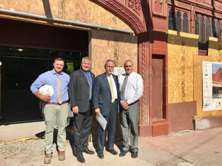 Congressman McKinley Tours Robinson Grand Performing Arts Center