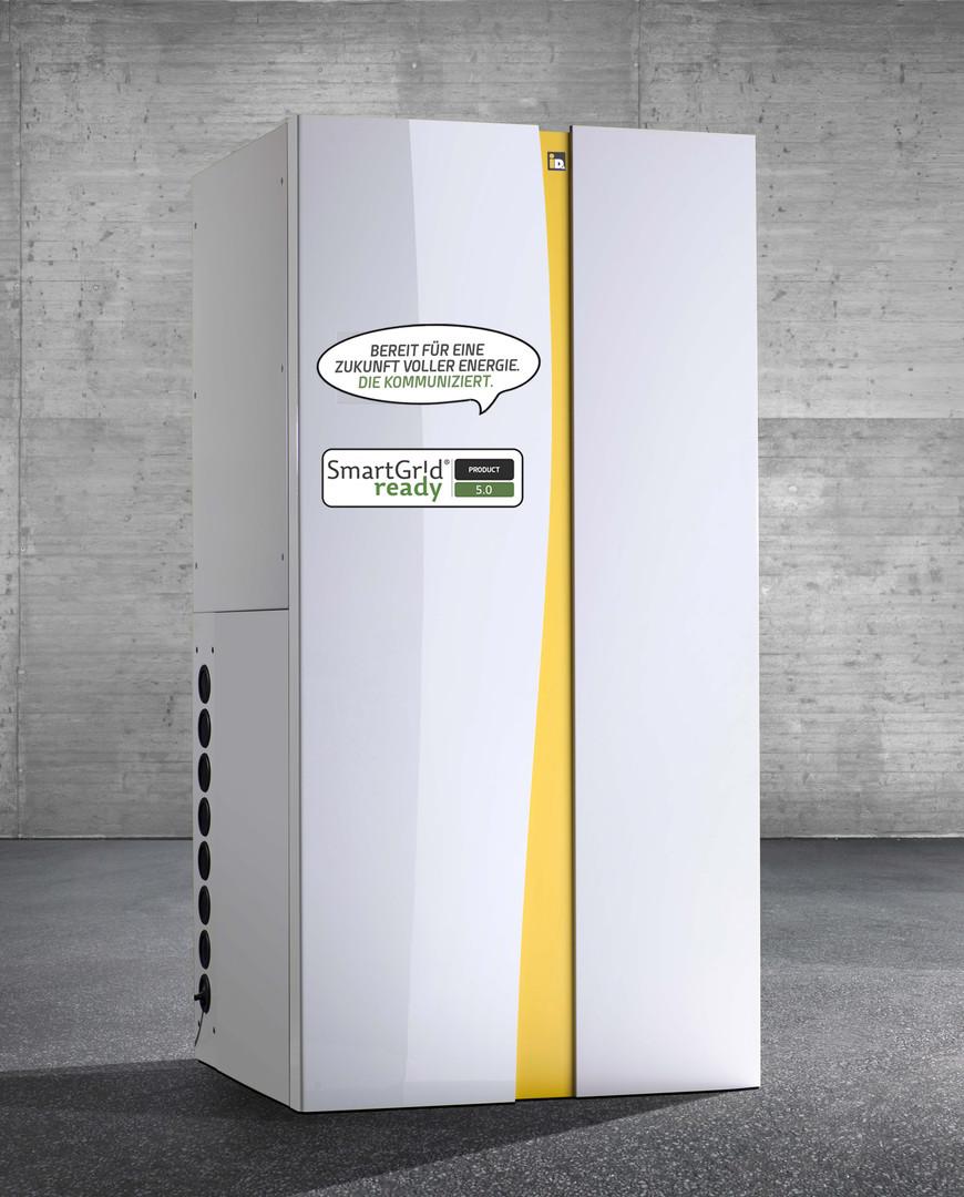 Wärmepumpe powered by Smart Grid ready