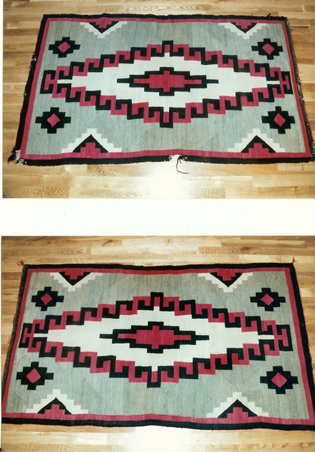 4. Navajo Rug Full View