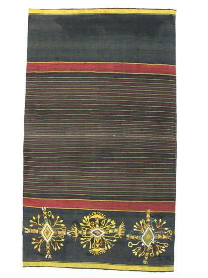 Indonesian ceremonial skirt.