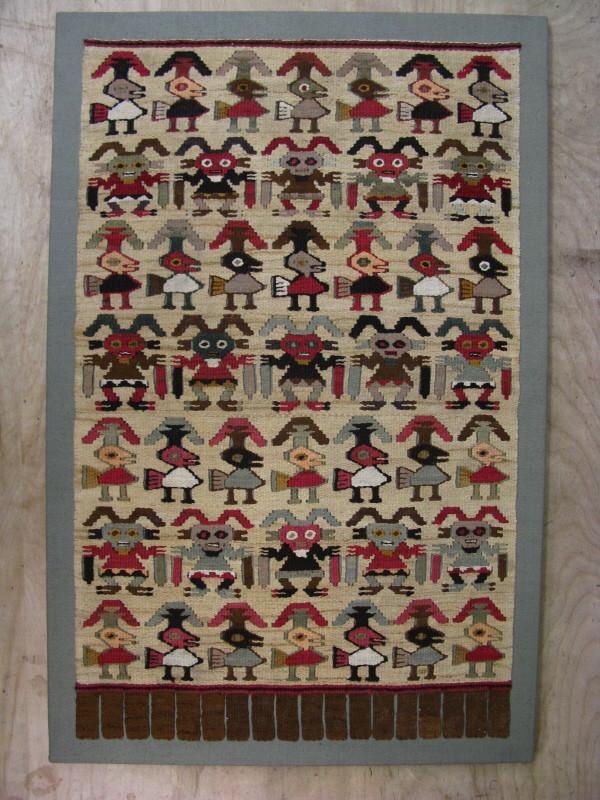 Peruvian Flat Woven Tapestry