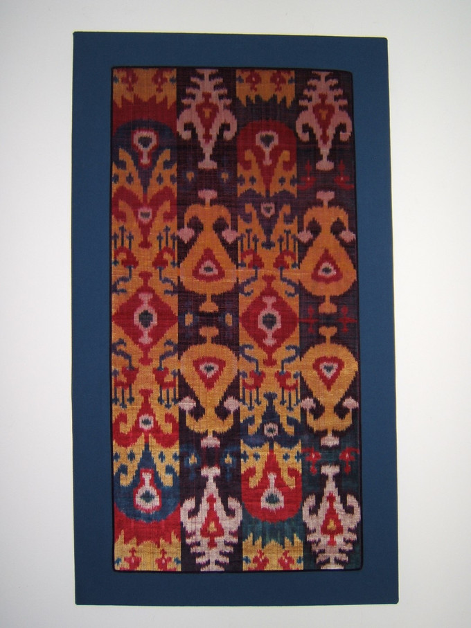 Central Asian Velvet Ikat