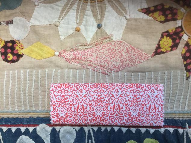Area 1 Original Fabric Before Treatment