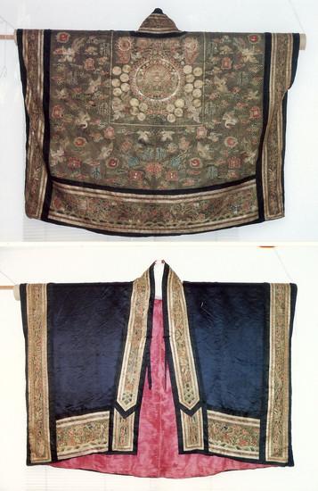 Tibetan monk robe.