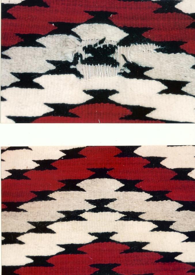 8. Navajo Rug