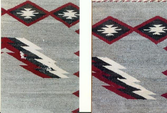 6. Navajo Rug Area 1