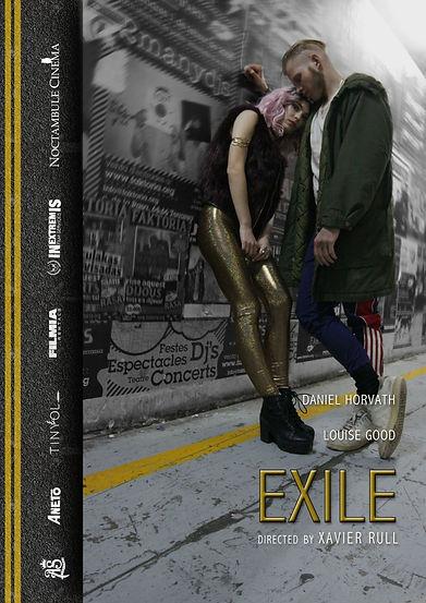 Teaser poster Exile cortometraje
