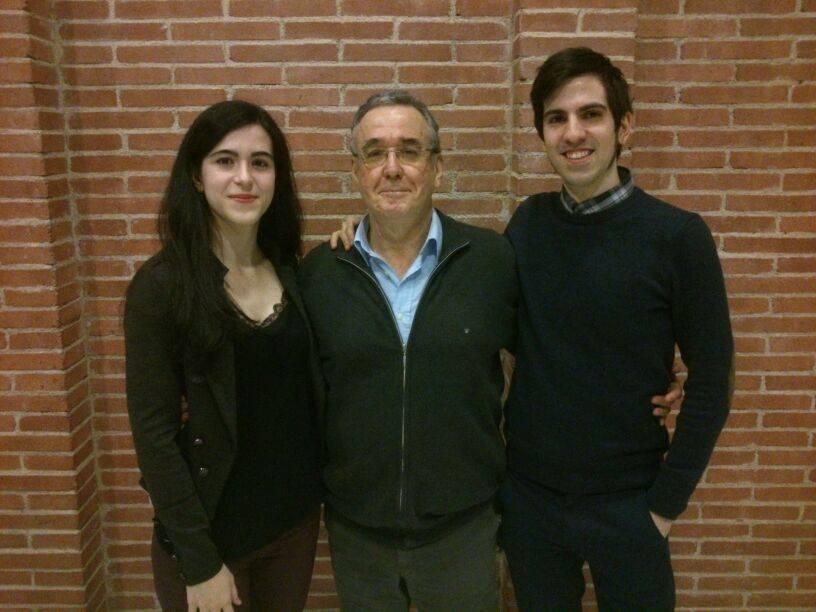 With Ferran Rañé