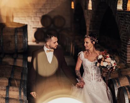 marié dans le chai