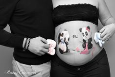 Baby belly painting