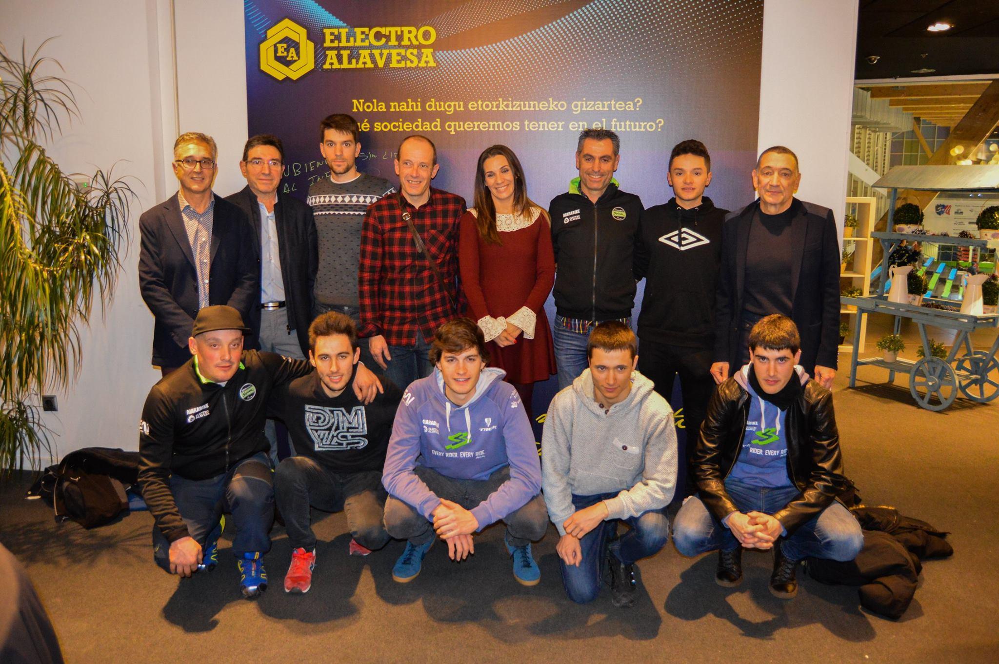 Presentación del equipo en Electroal