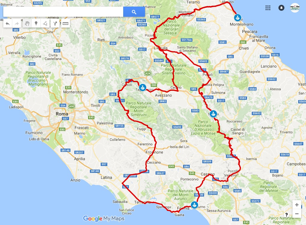 Race-across-Italy-map