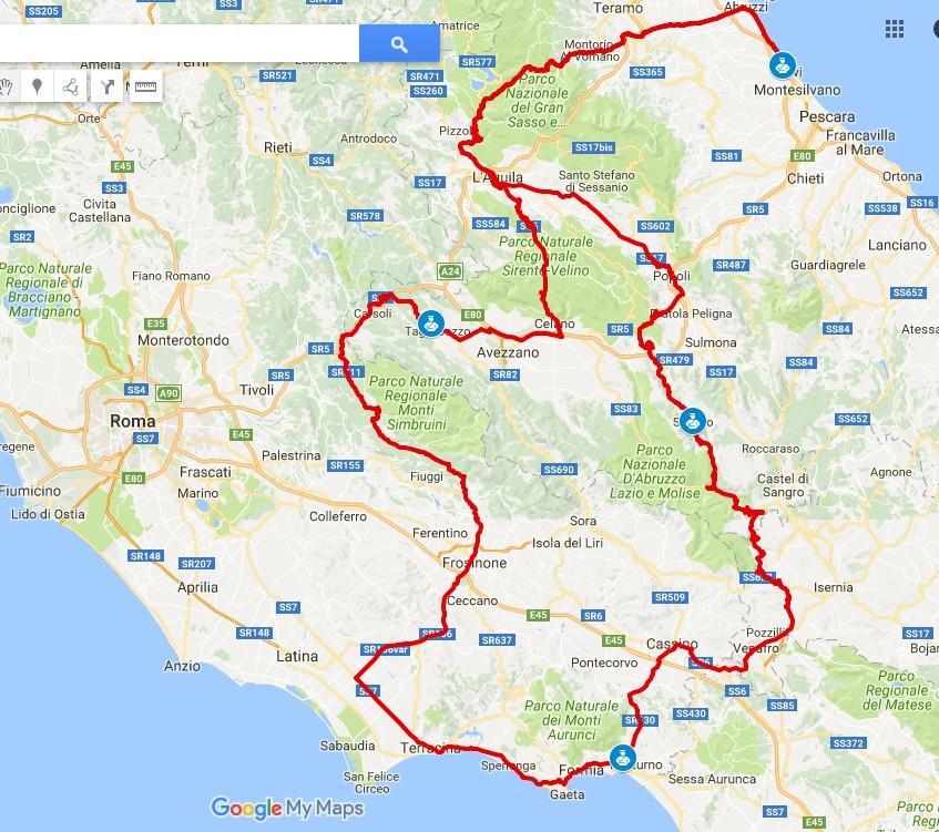 Race-across-Italy-map