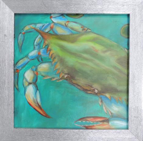 Blue Crab painting by Julie Jones copy.j